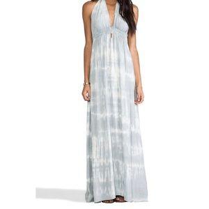 Love Shack Fancy Love Maxi Dress Silk Tie Dye